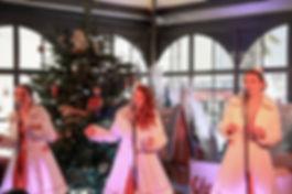 concert de noël chants de noêl groupe de noël christmas mademoiselles