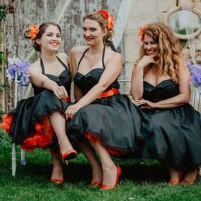 Mariage Vintage avec les Mademoiselles au château Mouillepied