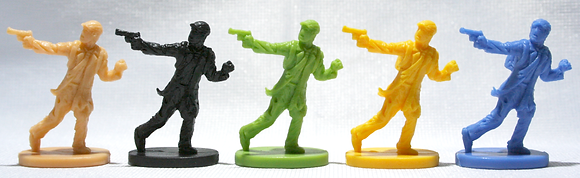 Zombies 13 player figures