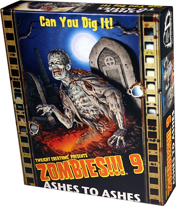 Zombies!!! 9 - Ashes to Ashes - Contents Only