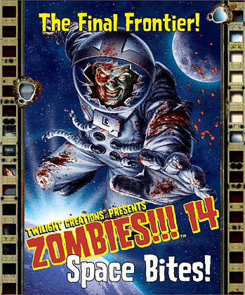 Zombies!!! 14 - Space Bites - Contents Only