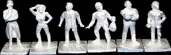 Pewter Human Figures