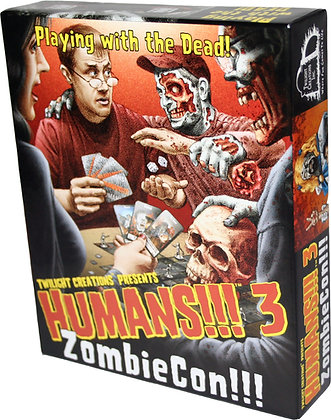 Humans!!! 3 - ZombieCon