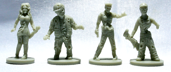 Zombies!!! Deluxe Figures