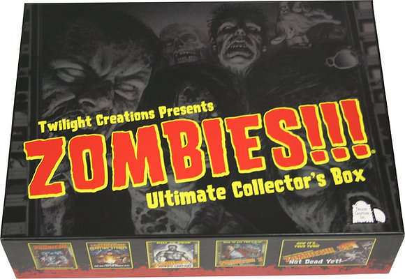 Zombies!!! Ultimate Collectors Box Full