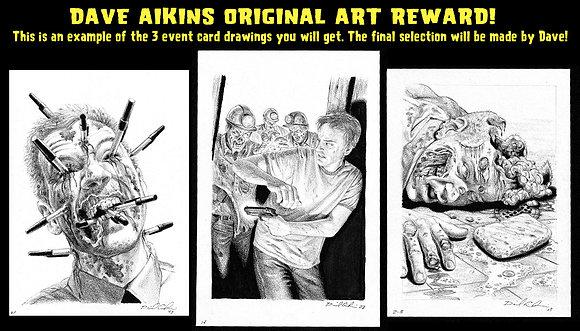 Dave Aikins Original Art