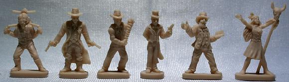Deadlands Player Figures