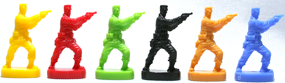 Zombietown Player Figure