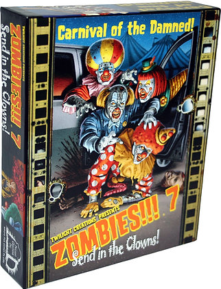 Zombies!!! 7 - Send in the Clowns! - Contents Only