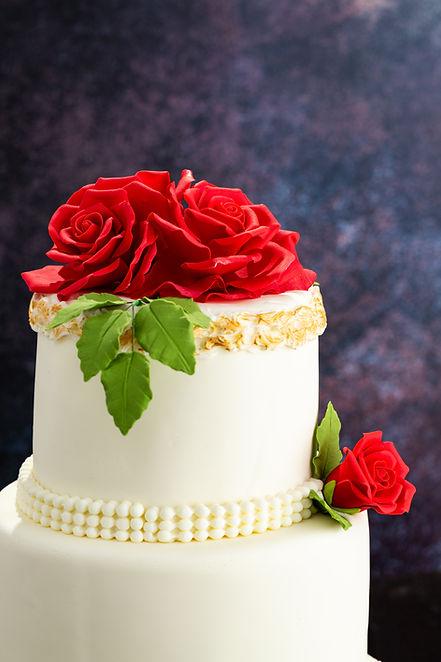 Tort Nunta Trandafiri