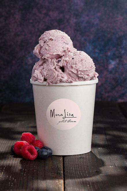 gelato fructe de padure