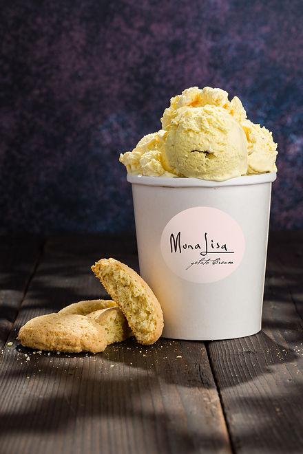gelato biscotto