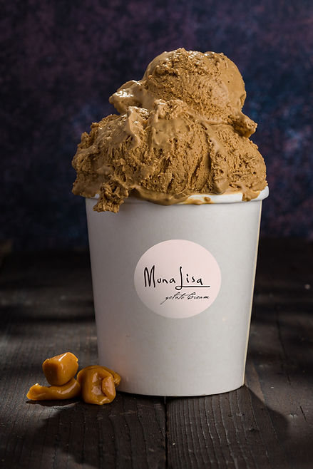 gelato caramel