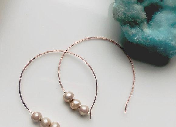Beach walk earrings