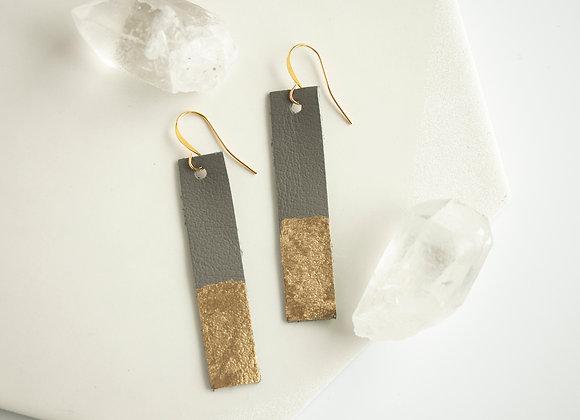 Graphite Earrings