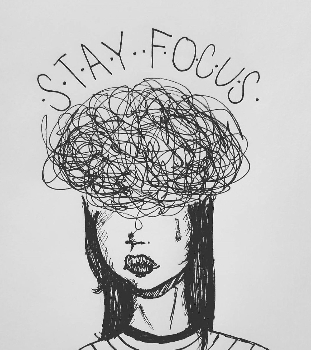 Stay Focus Drawing