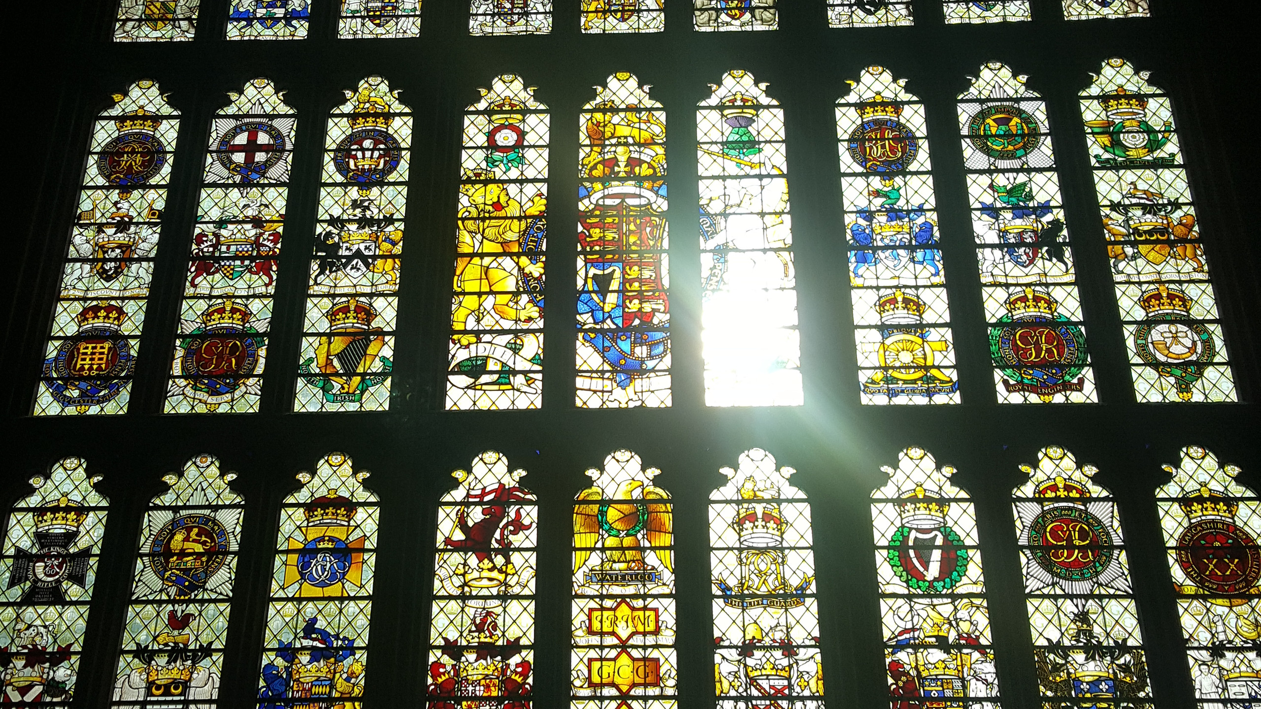 Stained Glass in Parliment