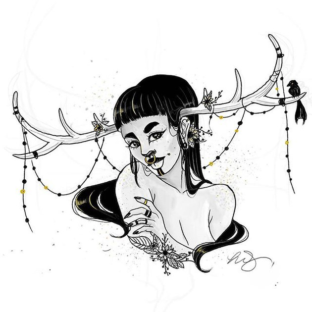 Enchanted - Inktober