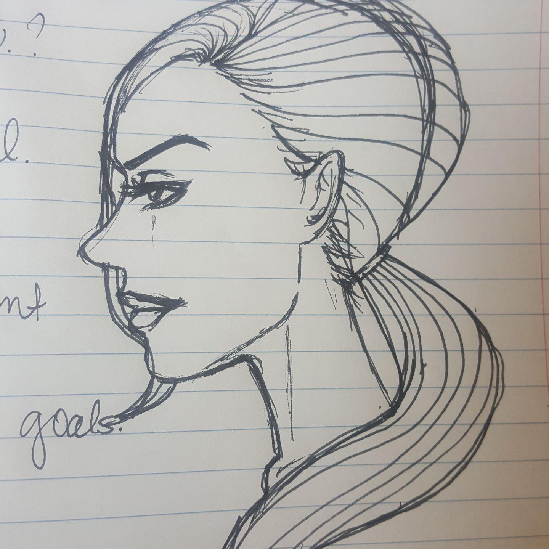 Drawing Random people