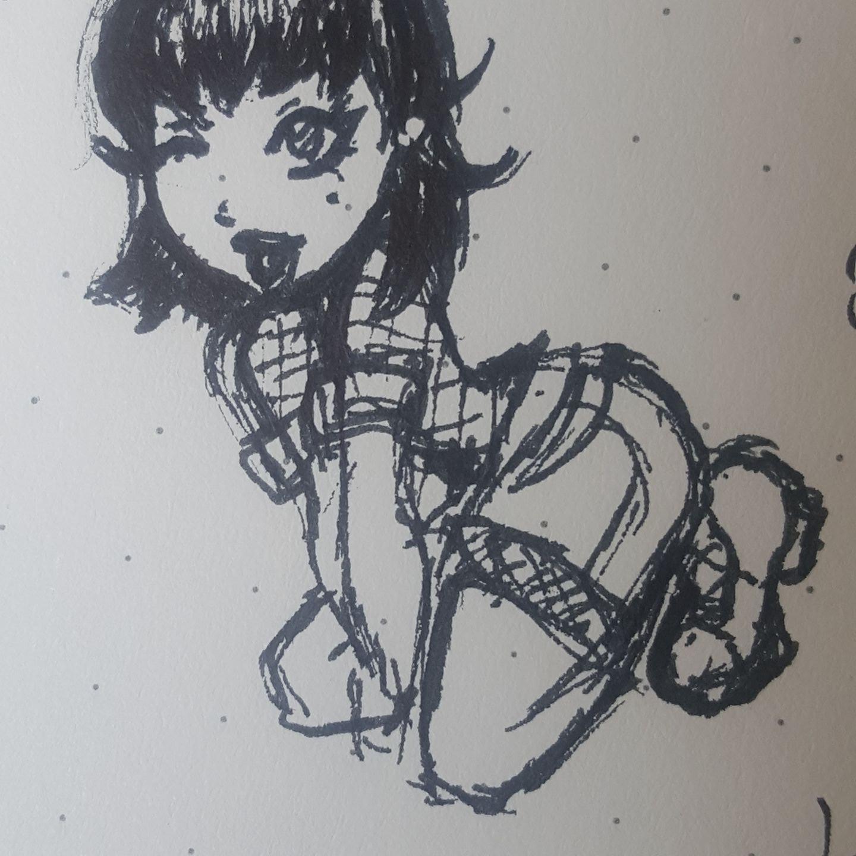Random Class Doodle Yeehah!