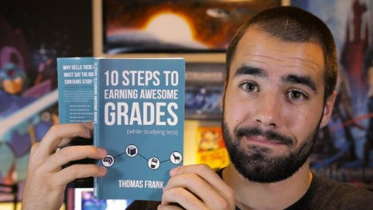 Thomas Frank & His Book 10 Steps to Earning Awesome Grades