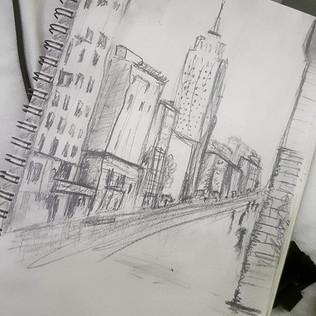 London Pencil Sketch