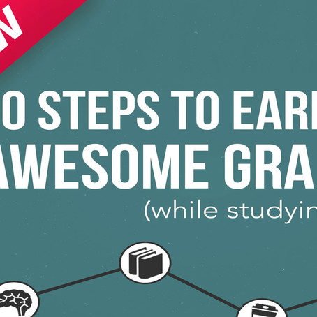 10 Steps to Earning Awesome Grades (While Studying Less) - Book Review