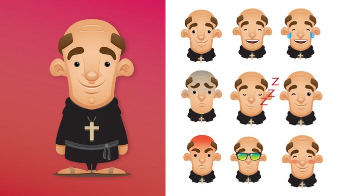 Saint Martin's Emoji Set