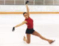 Ray-Lakshmi-Photo-Red Skating Pose-Edite