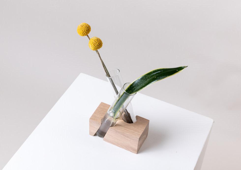 Shinshin X Brick Side View Popagation Vase