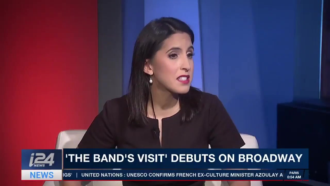 i24 - The Bands Visit - New Broadway musical