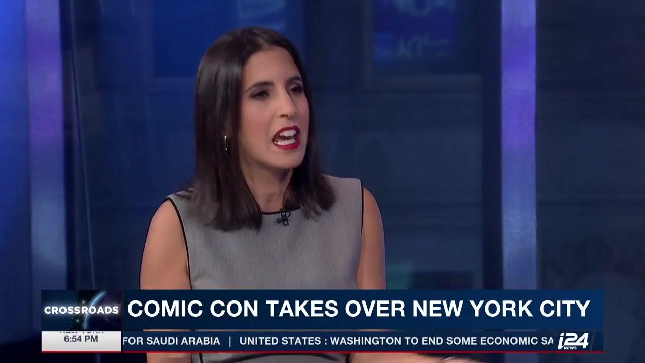 i24 - New York Comic Con is underway