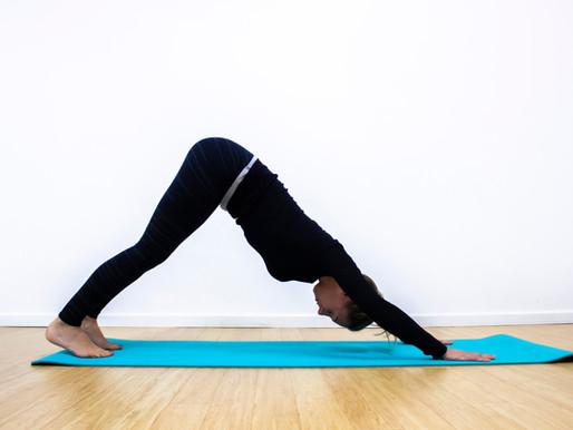 Yoga for Mental Health Awareness week.