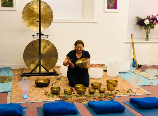 Sound Baths with Sonja Gundry!