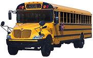 Yellow school bus.