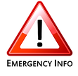 Emergency information icon