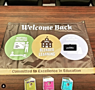 New PS596X Magnets with Welcome Back banner