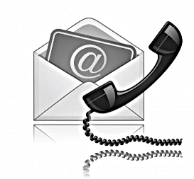 Contact Us with e-mail and phone