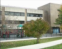Front of PS178 in the Bronx