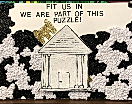Fit Us in - We are part of this puzzle student artwork.