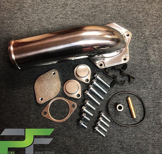 08-10 6.4L Ford Powerstroke Diesel EGR Delete Kit & Intake Elbow