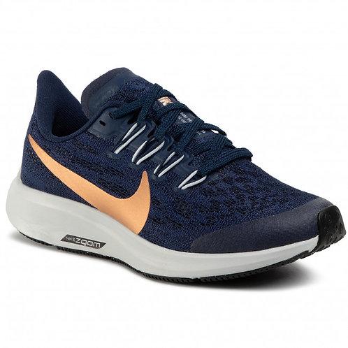 Nike Pegasus Donkerblauw / Goud Kids