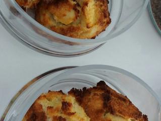 Amandelmuffins met appel