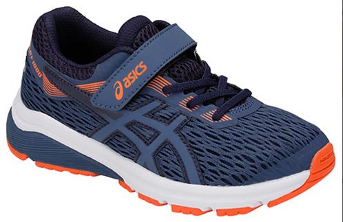 Asics Patriot 10 Velcro Blauw Kids