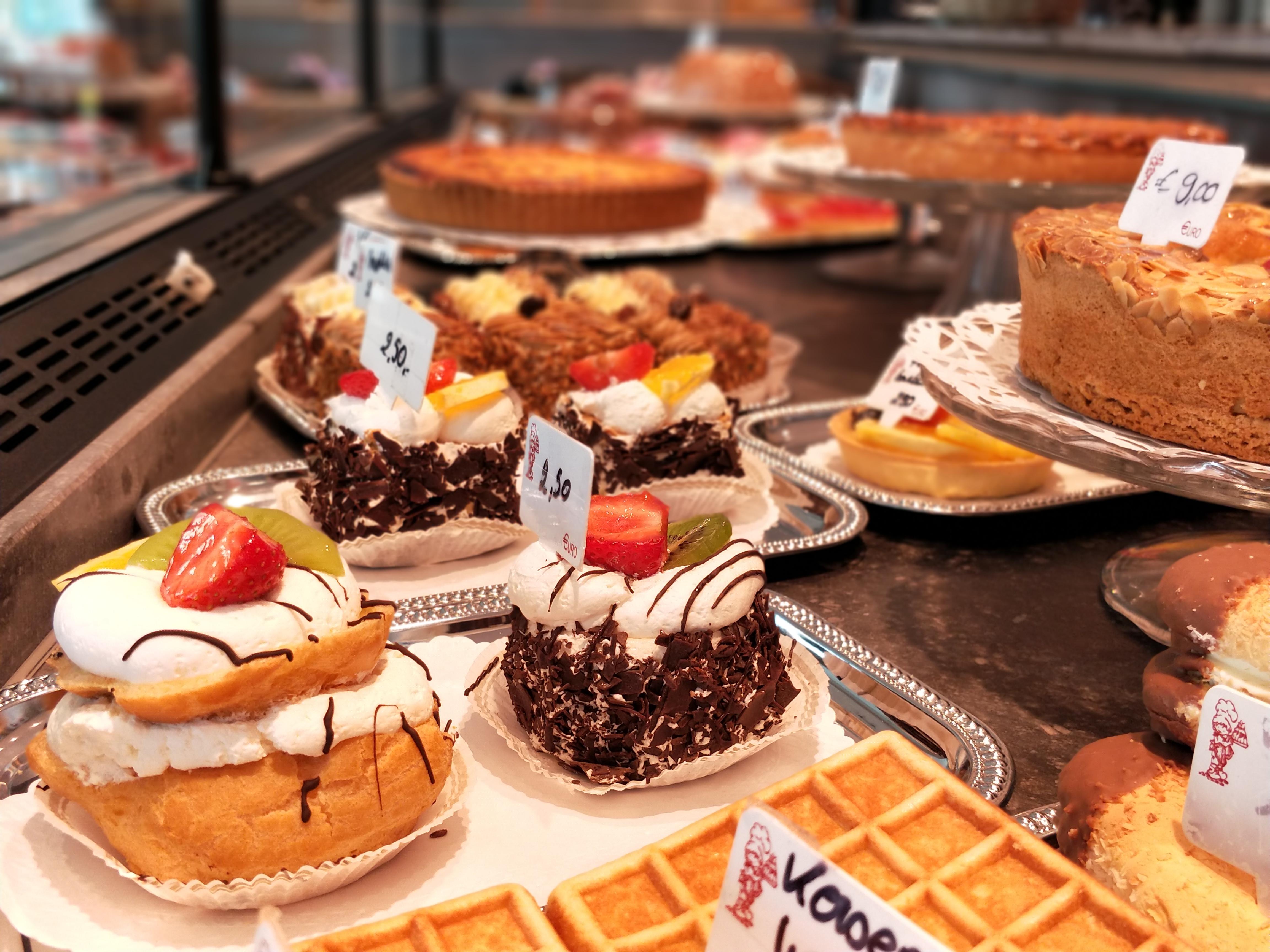 Lekkere gebakjes
