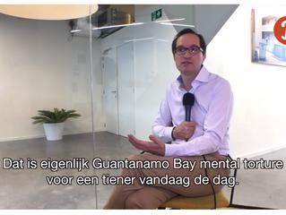 """Peter Hinssen: """"Het onderwijs vandaag is Guantanamo Bay mental torture voor een tiener."""" ("""