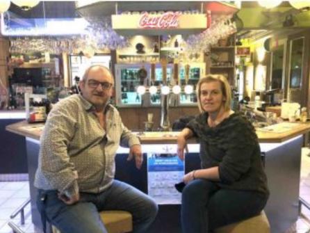 Bedankt klanten! Gerd en Véronique stoppen met uitbating Sportcafé Op't Reeck.
