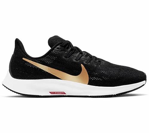 Nike Pegasus 36 Zwart / Goud Women