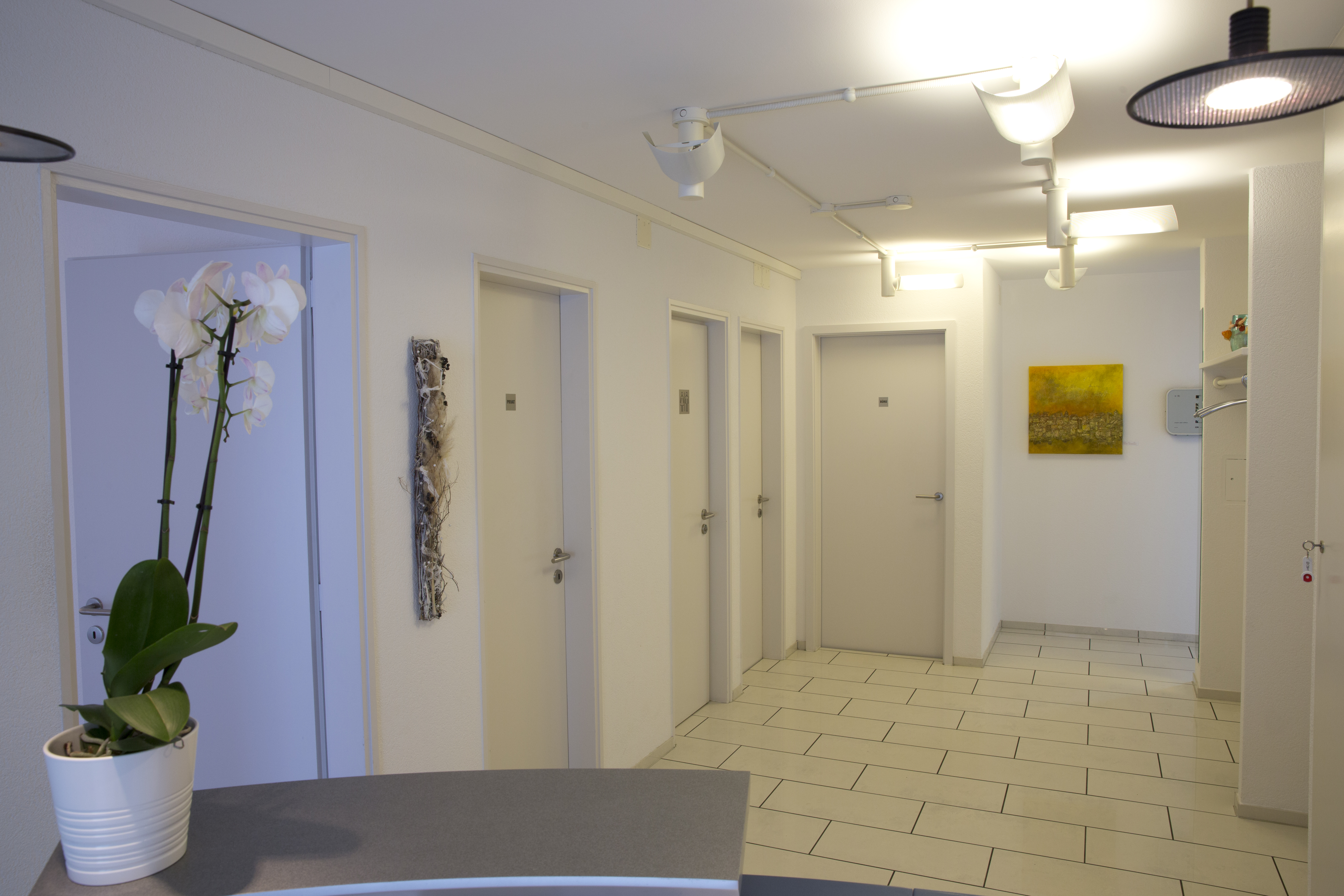 Eingangsbereich B&M Zahnärzte