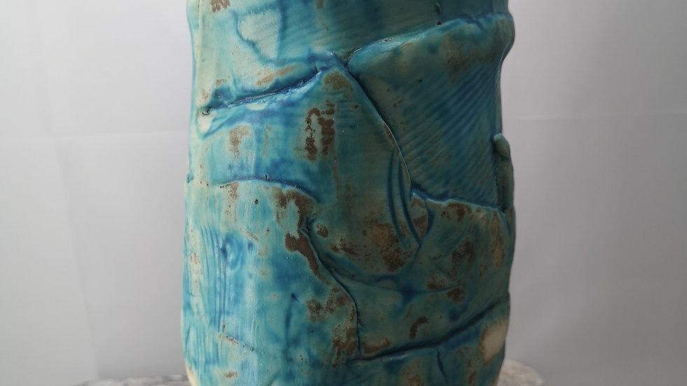 Turquoise Porcelain Vase